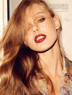 Frida Gustavsson by Hasse Nielsen for cover April 2013