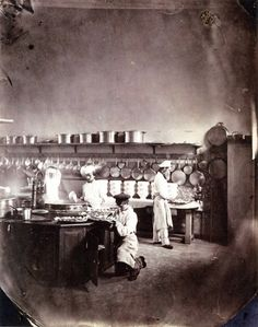 Kitchen at the imperial asylum in Vincennes near Paris, 1859