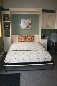 Modern Design Queen Size Murphy Bed For Master Bedroom