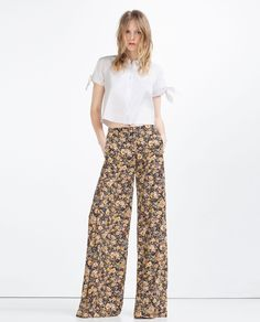 HIGH WAIST SKINNY TROUSERS - View All - TROUSERS - WOMAN | ZARA United States