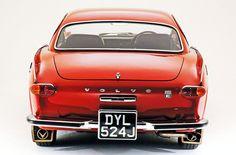 Volvo P1800 rear