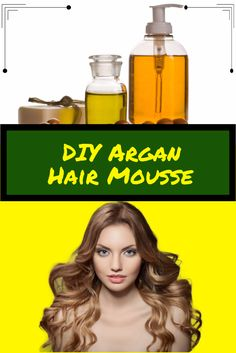 Curls looking limp or less bouncy? Want to add some volume to your curls? Here's a DIY Argan Hair Mousse that will give your curls more volume - http://www.moroccanpurearganoil.com/diy-argan-hair-mousse-for-lovely-locks/