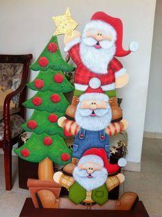 Resultado de imagen para madera country navidad