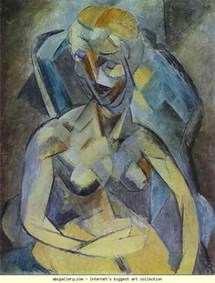Pablo Picasso. Young Woman. Olga's Gallery.