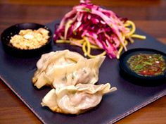 Koreanska dumplings med sötsur dipp (kock Jennie Walldén)