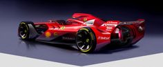 Ferrari F1 Concept Rear