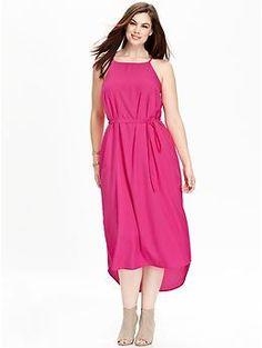 Women's Plus Suspended-Neck Maxi Dresses | Old Navy
