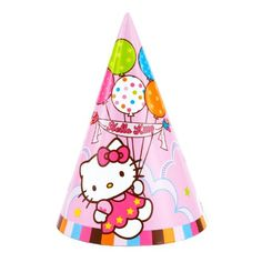 AMSCAN INC Hello Kitty Party Hats * Want to know more, click on the image.Note:It is affiliate link to Amazon.