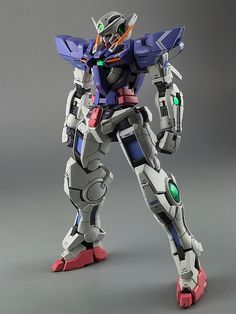 Painted Build: RG 1/144 Gundam Exia - Gundam Kits Collection News and Reviews