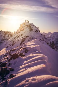 By Perpetual Weekend on #Ello  Two years ago this morning we were up high for sunrise in the Wasatch. Those first ten minutes of light are sweeter than all the mocha frappe's being handed through drive-up windows 6500 feet below.  #adventure #mountains #skiing #snow #hiking