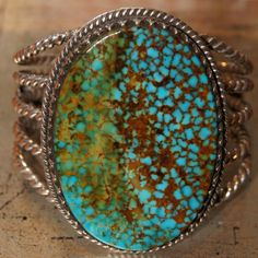 Finest grade of Spiderweb Kingman turquoise.