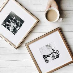 New frames from @framebridge always make me happy