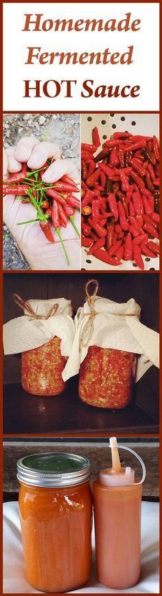 Pin it! Homemade Fermented Hot Sauce