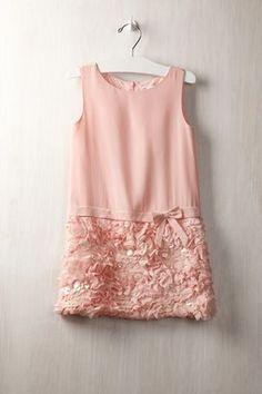 Charabia Pailette Bottom Dress