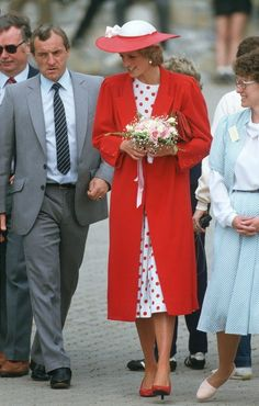 Mandatory Credit: Photo by Rex Features.  Barry Mannakee personal protection officer-Royal detective and Princess Diana visiting Atlantic College, Wales, Britain  Various