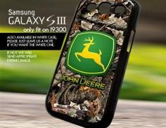 John Deere Camo Hunting Equipment - For Samsung Galaxy S3, Hard Cover