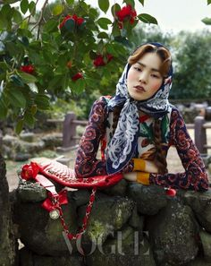 Korean Vogue. Model winner of Koreas next top model II