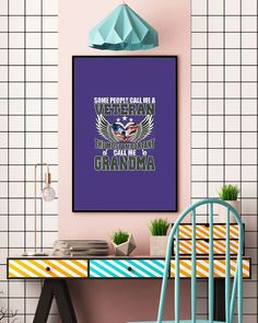 Some People Call Me A Veteran - The Best Grandma - Purple veteran quotes, wife tips, strong wife quotes #transformation #mealprep #purplehair