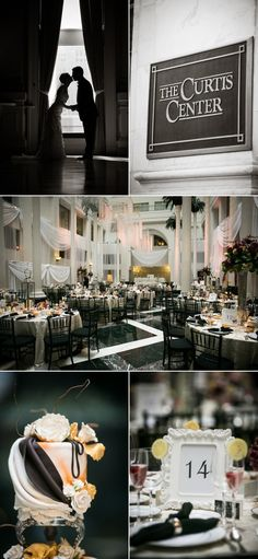 Philadelphia Wedding from mk Photography | Style Me Pretty