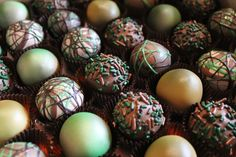 Camo - Hunting themed cake balls