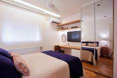 bedroom - quarto - decoração - design de interiores - interior design - Studio 021 Arquitetura - Js Marcenaria