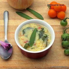 Indian Spinach Dal Recipe Vegan Soups, Vegetarian Recipes, Healthy Recipes, Free Recipes, Healthy Food, Yummy Food, Kootu Recipe, Dal Recipe, Vegan Curry