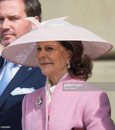 L-R)  Queen Silvia of Sweden attends the celebrations of the Swedish Armed Forces for the 70th birthday of King Carl Gustaf of Sweden on April 30, 2016 in Stockholm, Sweden.  (Photo by Samir Hussein/WireImage)