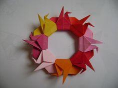 OrigaMila: Mandala de Tsurus - Passo a Passo