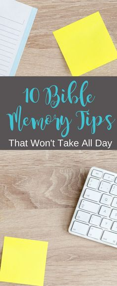 These 10 easy Bible memory tips fit into your busy day. Christian Faith, Christian Living, Christian Women, Christian Marriage, Christian Quotes, Bible Study Tips, Bible Lessons, Christian Encouragement, Christian Inspiration