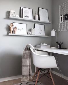 Most Popular Modern Home Office Design Ideas For Inspiration - Modern Interior Design Home Office Lighting, Home Office Space, Home Office Design, Home Office Decor, Office Ideas, Office Decorations, Decor Ideas, Office Inspo, Office Designs