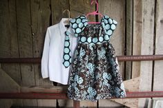 Blue and Brown RosesBrother and Sister SetBoys Neck by Beautiful6, $42.00