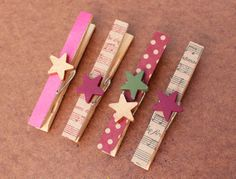 Clothespin magnet