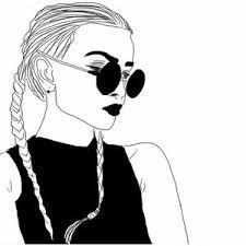 grafika girl, outline, and drawing Tumblr Girl Drawing, Art Tumblr, Tumblr Drawings, Drawing Girls, Manga Drawing, Tumblr Hipster, Outline Drawings, Cool Drawings, Hipster Drawings