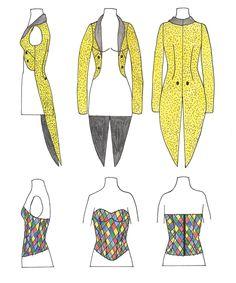Columbia's Tailcoat and Corset @Caitlyn Sweeney Sweeney Sweeney Vohs your Halloween costume perhaps?