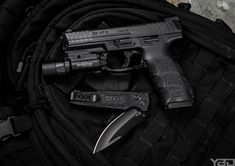 Knives and Guns SOG Vision Arc - Heckler and Koch VP9 Photo by @youngbuckdave