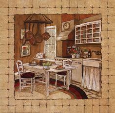 Kitchen Prints by Charlene Winter Olson - Google zoeken