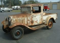 Log into your Just Cars dashboard for more. Antique Trucks, Vintage Trucks, Old Trucks, Antique Cars, Model A Rat Rod, Rust Belt, Classic Pickup Trucks, Country Barns, 1932 Ford