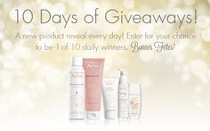 Win 10 Days of Giveaways from Eau Thermale Avène!