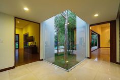 Aldea House by Seijo Peon Arquitectos y Asociados...so playful it almost seems like an illusion