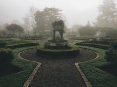 The Garden - Tyler Forest-Hauser The Garden - Tyler Forest-Hauser garden aesthetic Dark Green Aesthetic, Slytherin Aesthetic, Over The Garden Wall, Aesthetic Pictures, Light In The Dark, Scenery, Harry Potter, Beautiful, Aesthetics