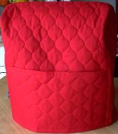 Mixer Cover Pattern Designed to Fit Kitchen Aide Mixers