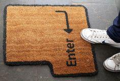 Enter doormat | 20 Hilarious Welcome Mats