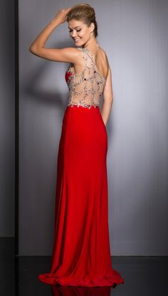 Clarisse Long Prom Dress 2616 | Promgirl.net