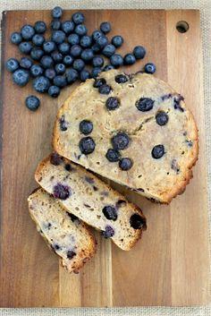 Slow Cooker Blueberry Banana Bread