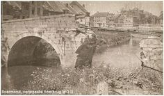 """1945 Maria-Theresia Brug or in Roermond's dialect """"De Steine Brok"""""""