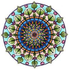 Leafy Mandala by Artwyrd on DeviantArt