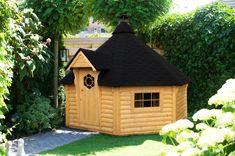 Finse kota Sauna cabin Diy Sauna, Indoor Outdoor, Outdoor Decor, Shed, Outdoor Structures, Cabin, House, Home Decor, Decoration Home