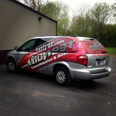Partial vehicle wrap decals #graphic #design #print #install #create #signs #tee…