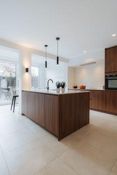 Family Kitchen, New Kitchen, Kitchen Dining, Interior Architecture, Interior Design, Cuisines Design, Modern Kitchen Design, Home Kitchens, Decoration
