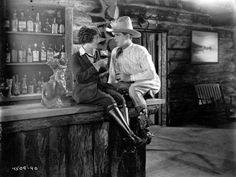 Hoot Gibson stars with Fay Wray in the movie 'Man On The Saddle' directed by Lynn Reynolds for Universal / Jewel